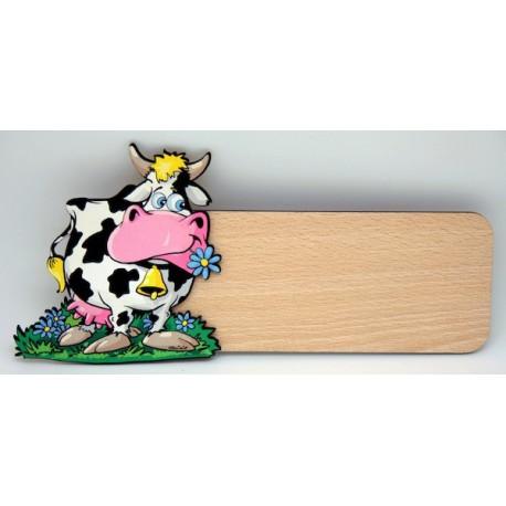 Placa para puerta Vaca
