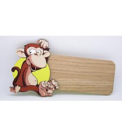 Placa para puerta Mono