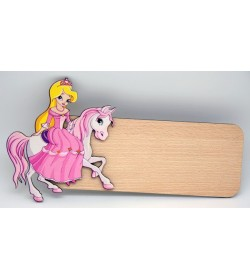 Placa para puerta Princessa