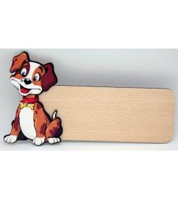 Placa para puerta Perro