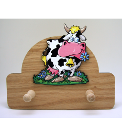 Coat Hanger Cow