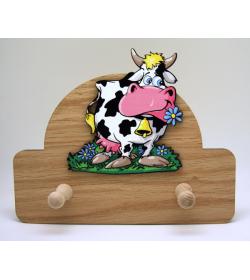 Coat Hanger Cow