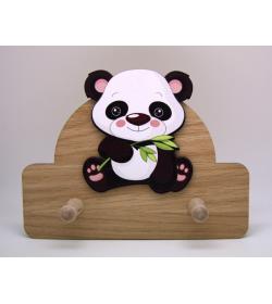 Perchero Panda doble