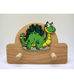 Perchero Dinosaurio doble