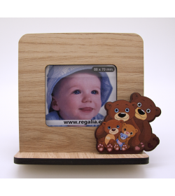 Photo Frame Bear Family