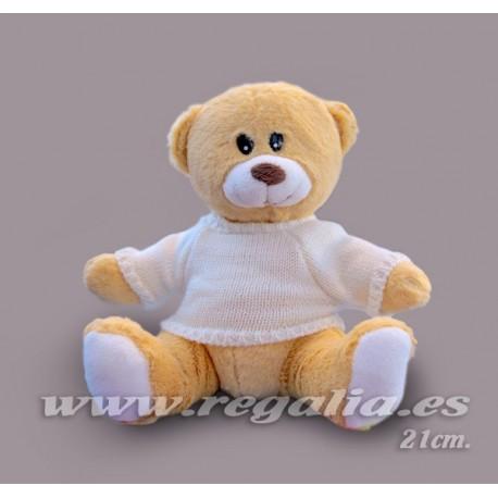 TEDDY WHITE 21cm