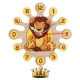 Gift for kids-Wall clock with pendulum Lion